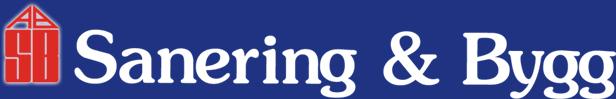 Sanering & Bygg Logo